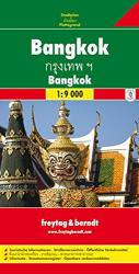 Bangkok City Map by Freytag, Berndt und Artaria