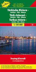 Turkey Riviera and Antalya-Side-Alanya by Freytag, Berndt und Artaria