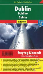 Dublin Pocket Map by Freytag, Berndt und Artaria