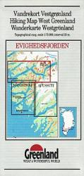 Evighedsfjorden hiking map by Greenland Tourism