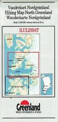 Ilulissat hiking map by Greenland Tourism