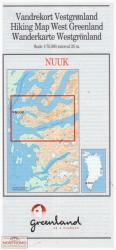 Nuuk hiking map by Greenland Tourism