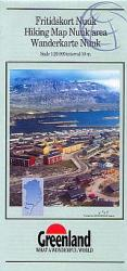 Nuuk Area Hiking Map by Greenland Tourism