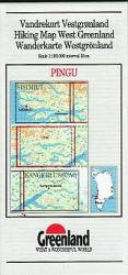 Pingo hiking map by Greenland Tourism