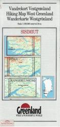 Sisimiut hiking map by Greenland Tourism