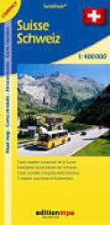 Switzerland Road Map : Compact Edition by Edition MPA by Orell Fussli