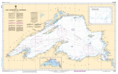 LAKE SUPERIOR/LAC SUPERIEUR (2300) by Canadian Hydrographic Service