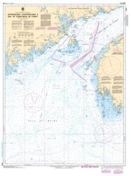 APPROACHES TO/APPROCHES A BAY OF FUNDY/BAIE DE FUNDY (4011) by Canadian Hydrographic Service