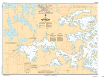 NORTHWEST BAY TO/A ASH BAY (6106) by Canadian Hydrographic Service