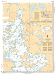 HOSTESS ISLAND TO/A DEVILS CASCADE (6107) by Canadian Hydrographic Service