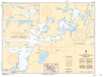 REDGUT BAY (6110) by Canadian Hydrographic Service