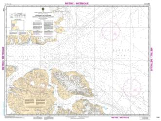 LANCASTER SOUND, EASTERN APPROACHES/APPROCHES EST (7220) by Canadian Hydrographic Service