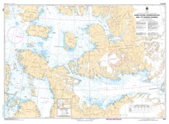 JONES SOUND, NORWEGIAN BAY AND QUEENS CHANNEL (7950) by Canadian Hydrographic Service