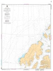 CAPE MANNING TO BORDEN ISLAND by Canadian Hydrographic Service
