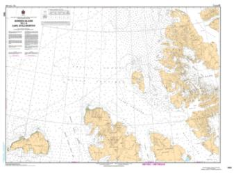 BORDEN ISLAND TO/A CAPE STALLWORTHY by Canadian Hydrographic Service
