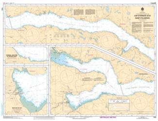 CAP ETERNITE A/TO SAINT FULGENCE (1202) by Canadian Hydrographic Service