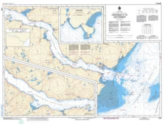 TADOUSSAC A/TO CAP ETERNITE (1203) by Canadian Hydrographic Service