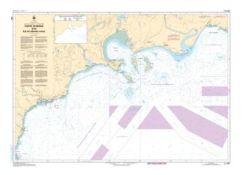 POINTE DE MOISIE A/TO ILE DU GRAND CAOUIS (1221) by Canadian Hydrographic Service