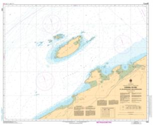 CHENAL DU BIC ET LES APPROCHES/AND APPROACHES (1223) by Canadian Hydrographic Service