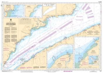 POINTE DES MONTS AUX/TO ESCOUMINS (1236) by Canadian Hydrographic Service