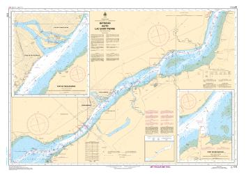 BATISCAN AU/TO LAC SAINT-PIERRE (1313) by Canadian Hydrographic Service