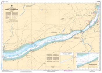 QUEBEC A/TO DONNACONA (1315) by Canadian Hydrographic Service
