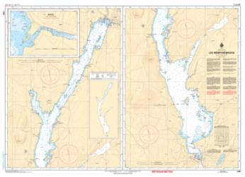LAC MEMPHREMAGOG (1360) by Canadian Hydrographic Service