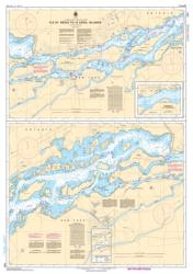 ILE ST-REGIS TO/A CROIL ISLANDS (1433) by Canadian Hydrographic Service