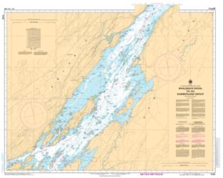 WHALEBACK SHOAL TO/AU SUMMERLAND GROUP (1436) by Canadian Hydrographic Service
