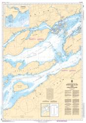 GRINDSTONE ISLAND TO/A CARLETON ISLAND (1438) by Canadian Hydrographic Service