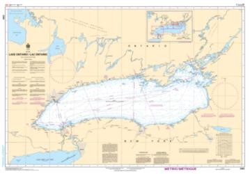 LAKE ONTARIO/LAC ONTARIO (2000) by Canadian Hydrographic Service
