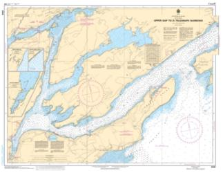 UPPER GAP TO/A TELEGRAPH NARROWS (2006) by Canadian Hydrographic Service