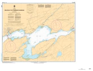 BELLEVILLE TO/A TELEGRAPH NARROWS (2007) by Canadian Hydrographic Service