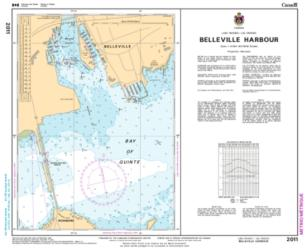 BELLEVILLE HARBOUR (2011) by Canadian Hydrographic Service