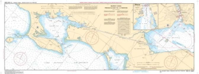 MURRAY CANAL TO HEALEY FALLS LOCKS : GLEN ROSS TO HAGUES REACH LOCK(2021) by Canadian Hydrographic Service