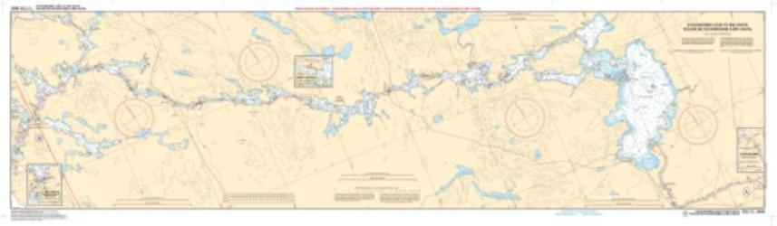 COUCHICHING LOCK TO PORT SEVERN : BIG CHUTE TO/A PORT SEVERN (2029) by Canadian Hydrographic Service