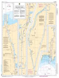 WELLAND CANAL ST.CATHARINES TO/A PORT COLBORNE (2042) by Canadian Hydrographic Service