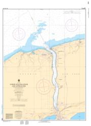 LOWER NIAGARA RIVER AND APPROACHES (2043) by Canadian Hydrographic Service
