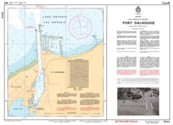 PORT DALHOUSIE (2044) by Canadian Hydrographic Service