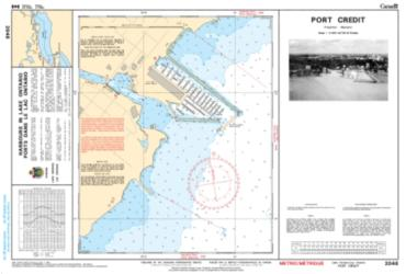 PORT CREDIT (2048) by Canadian Hydrographic Service