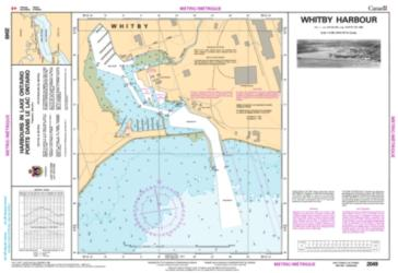 WHITBY HARBOUR (2049) by Canadian Hydrographic Service