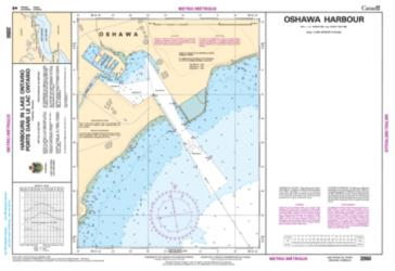 OSHAWA HARBOUR (2050) by Canadian Hydrographic Service