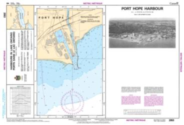 PORT HOPE HARBOUR (2053) by Canadian Hydrographic Service