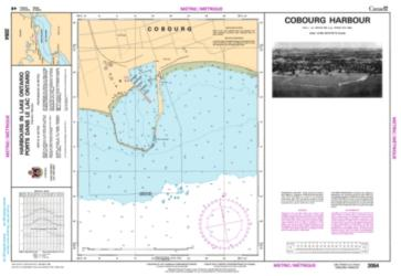 COBOURG HARBOUR (2054) by Canadian Hydrographic Service