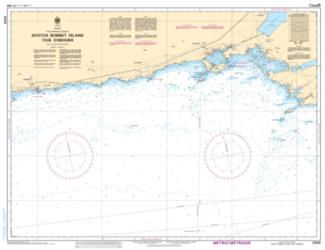 SCOTCH BONNET ISLAND TO/A COBOURG (2059) by Canadian Hydrographic Service