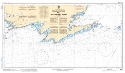 MAIN DUCK ISLAND TO/A SCOTCH BONNET ISLAND (2060) by Canadian Hydrographic Service