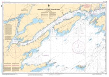 KINGSTON TO/A FALSE DUCK ISLANDS (2064) by Canadian Hydrographic Service