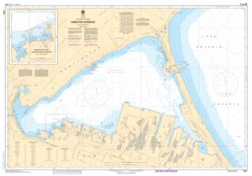 HAMILTON HARBOUR (2067) by Canadian Hydrographic Service