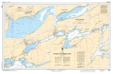 PICTON TO/A PRESQU'ILE BAY (2069) by Canadian Hydrographic Service