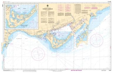 TORONTO HARBOUR (2085) by Canadian Hydrographic Service